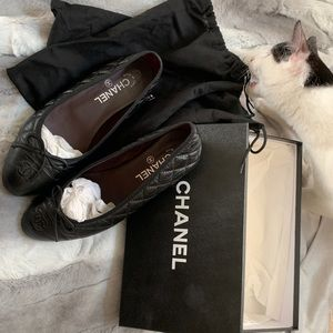 Authentic Chanel flats